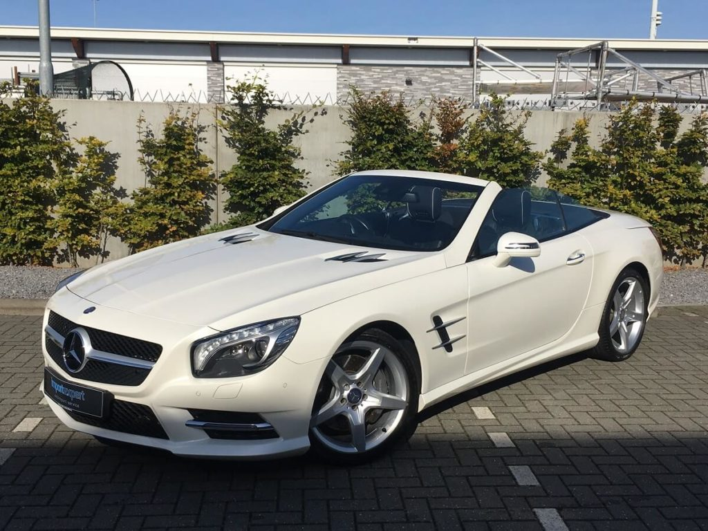 auto mercedes-benz SL 350 AMG styling